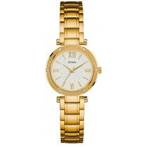 Relógio Guess Gc W0767 Dourado Garantia 12x Sem Juros