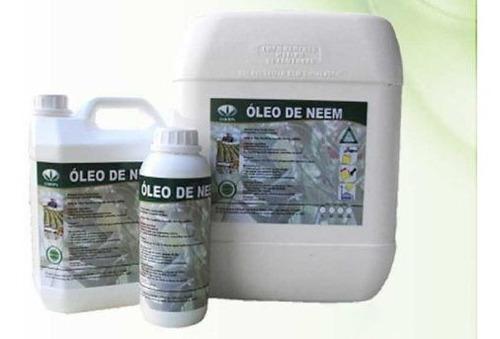 Óleo Neem Nim Puro Orgânico Plantas 1 Litro + Brinde