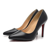 Sapato Só Kate Louboutin Salto 8cm. Original Pronta Entrega