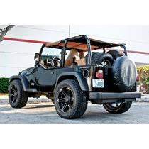 Jogo Rodas Off Road Tuff Aro 20 X9 Jeep Wrangler Troller S10