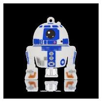 Kit 3 Und Pendrive Star Wars 8gb R2d2