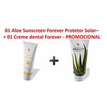 Kit Forever - 01 Sunscreen Protetor + 01 Creme Dental