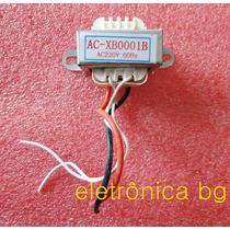 Transformador Trafo 220v 12v 300ma 3,3 X 3,53cm