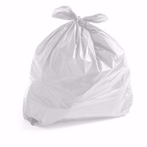 Saco De Lixo Branco Leitoso 100l 100un. Reforçado 8 Micras