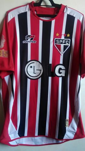 b8c595be0bb98 Camisa Guarani Fc - Branca Reebok 2000. Usado. São Paulo. R  199. 0  vendidos. Camisa São Paulo Fc Listrada - Topper 2005