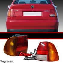 Lanterna Traseira Polo Classic 96 97 98 99 00 01 Tricolor