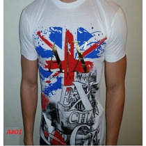 Camiseta Armani, Ck, Jj,tommy, Ralph Lauren - Pronta Entrega