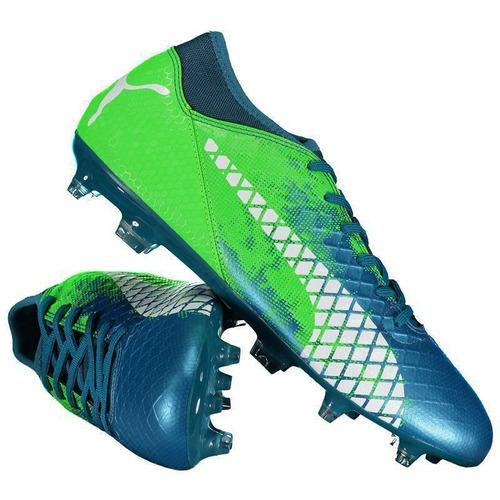57bdd4e81a15d Chuteira Puma Future 18.4 Fg Campo Azul E Verde. R$ 179.9