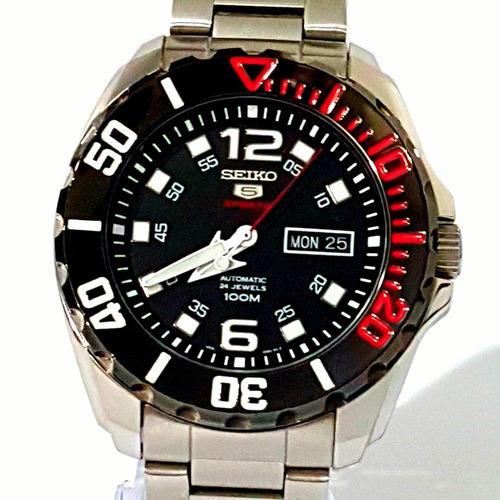 748b4df5826 Relogio Seiko 5 Sports Automatico Masculino Todo Original. R  1299