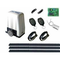 Kit Automatizador De Portão Motor Rossi Dz 4 Turbo 1/4hp