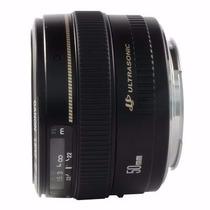 Lente Canon Ef 50mm F/1.4 Usm Ultrasonic Nova 100% Original