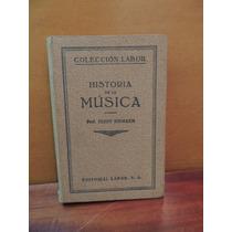 Livro Historia De La Musica Hugo Riemann