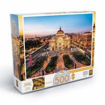 Brinquedo Quebra Cabeça Puzzle 500 Palácio De Belas Artes