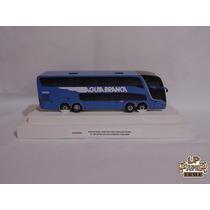 Miniatura Ônibus Viação Águia Branca Marcopolo Paradiso G7