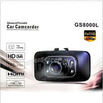 Câmera Automotiva Gs8000l Full Hd 1080p 120 Graus