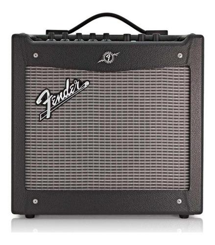 Amplificador Fender Mustang I (v.2) 20w Transistor Preto E Prata 110v
