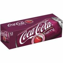 Coca Cola Cherry Sabor Cereja Caixa 24 Latas 355ml Coke Eua