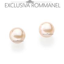 Rommanel Brinco Segundo Furo Solitario Perola De 3mm 525027