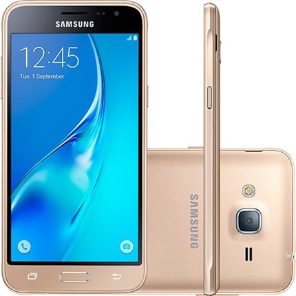 Smartphone Samsung Galaxy J3 Dual 5` 8gb 4g Sm - j320m / ds - Do