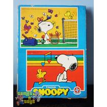 Quebra Cabeça Do Snoopy Estrela 1980 Puzzle Vintage Clássico