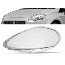 Lente Farol Fiat Punto 2008 2009 2010 A 2012 Lado Esquerdo