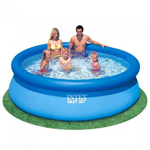 Piscina Inflável Intex Easy Set 2.400l + Capa Intex