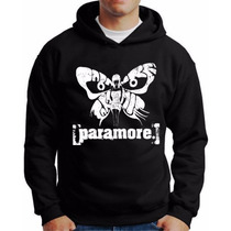 Moletom Paramore Blusa Banda Paramore Casaco Paramore