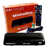 Kit 5 Receptor Midiabox B4 Century Hd Tv Digital Midia Box