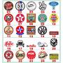 Adesivos Carros Antigos/vintage/retro Marcas Antigas