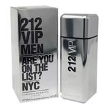 Perfume 212 Vip Men Carolina Herrera Edt 100ml + Brinde