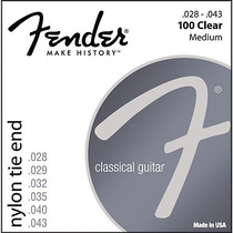Enc Violao Ny Fender Medio 100 Clr