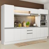 Cozinha Completa 100% Mdf Madesa Smart 300 Armário E Balcão
