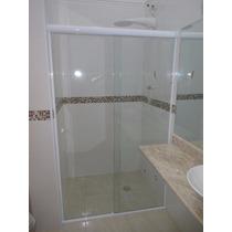 Box Para Banheiro Vidro Temperado 8mm Incolor (tipo Blindex)