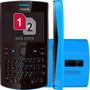 Nokia Asha 205 Dual Chip Mp3 Facebook Rádio Fm Usado.
