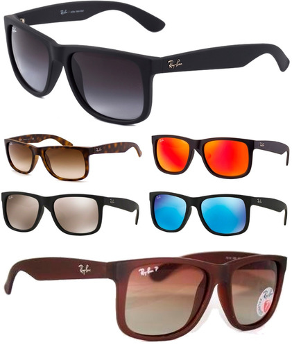 Óculos Sol Ray-ban Rb4165 Justin Original Masculino Feminino 1bee998985