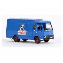 Miniatura Fiat Gamma Zeta Olio Fiat Azul Ho 1:87 Brekina