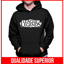 Moletom League Of Legends Lol Masculino E Feminino Canguru