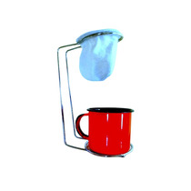 Mini Coador De Café Individual Com Refil Xicara Espresso Co