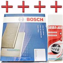 Filtro De Ar Condicionado Bosch P/ Gm Captiva + Higienizador