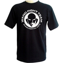 Camiseta Wand Fight Team - Wanderlei Silva Mma Muay Thai Jiu