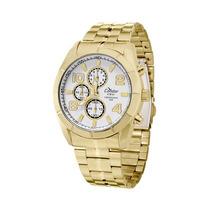 Relógio Condor Ky80150/4b Cronógrafo - Dourado 12x Sem Juros