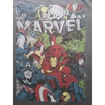 Camisa Marvel - Original - Importada - Tamanho Medio - Nova
