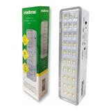 5 Luminárias Emergência Intelbras 30 Led Para Até 30m2