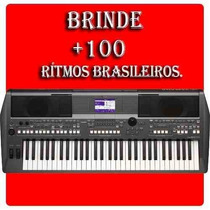 Teclado Arranjador Psr-s670 Com Fonte Bivolt Yamaha