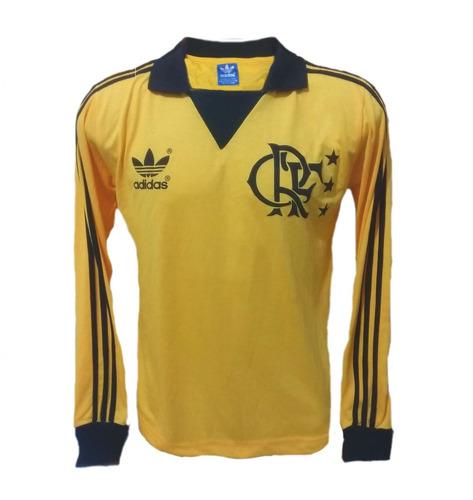 Camisa Flamengo Goleiro - Liga Retrô Sports. R  120 1b1201415059a