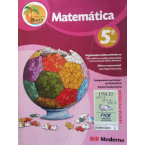 Livro: Matemática 5°ano - Ensino Fundamental-projeto Buriti