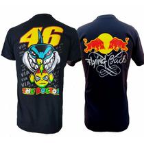Camiseta Valentino Rossi + Red Bull - Kit 2 Camisetas