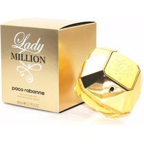 Perfume Lady Million Feminino 80ml Edp Paco Rabanne