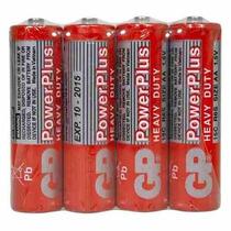 Caixa Com 4 Pilhas Aaa Gp Power Plus 1.5v