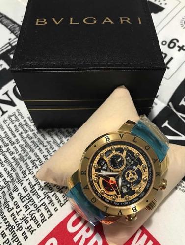 c28aaff7883 Relógio Bvlgari Iron Man Original Promoção!! - R  359 en Melinterest